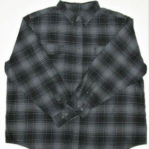 Faded Glory Men's L/S Cotton Flannel Shirt 3XL